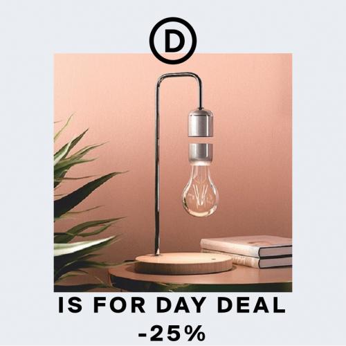 Day Deal | Der helle Wahnsinn: Eine schwebende Lampe
