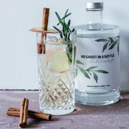 (No) Ghost in a Bottle | Botanische alkoholfreie Getränke