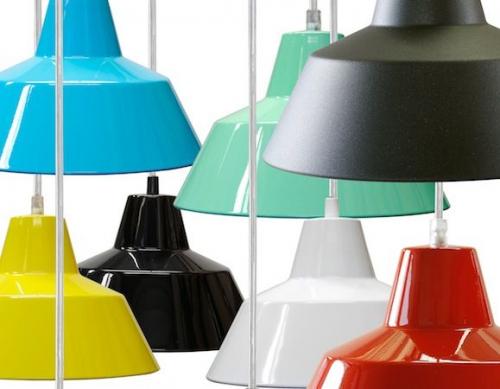 E-form | Colourful Danish lighting