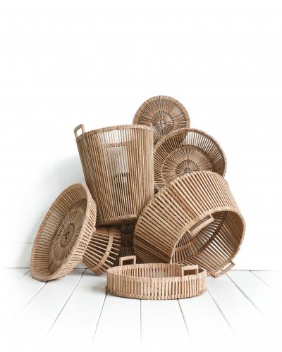Piet Hein Eek | Wooden Palm Baskets