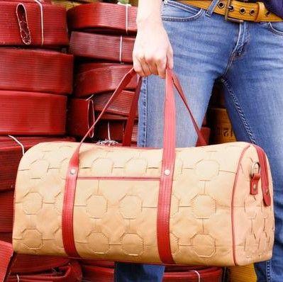 Elvis & Kresse | Stunning Fire-Hose Bags