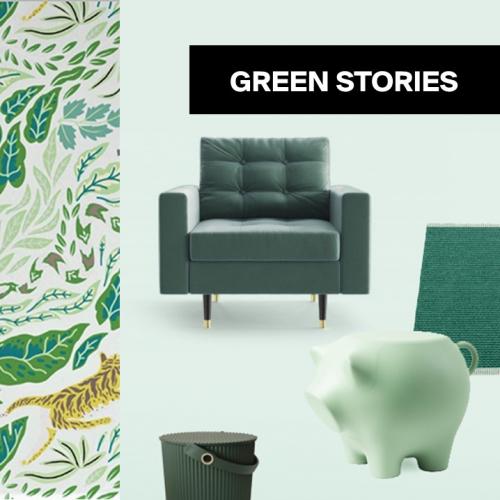 Grün, grün, grün | Frisches Update für dein Zuhause