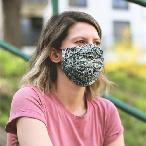 Foonka | Sicherheitsgesichtsmasken mit Naturdrucken