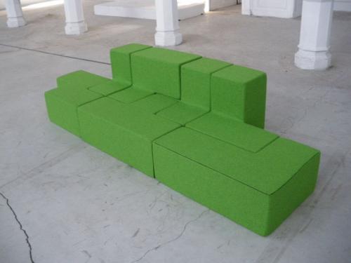 Tricky by Patrick Clauwaert | Modular Sofa