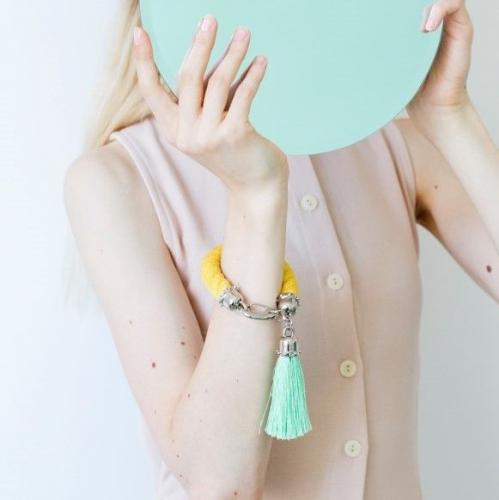 YAYOI | Extravagant Bracelets with Tassels