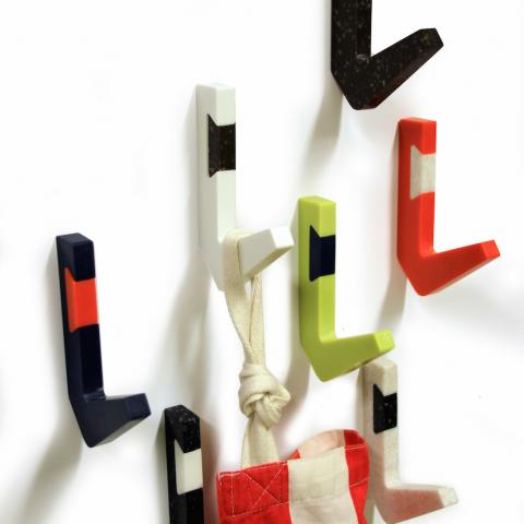 Studio Sergeant | Colourful Coat Rack