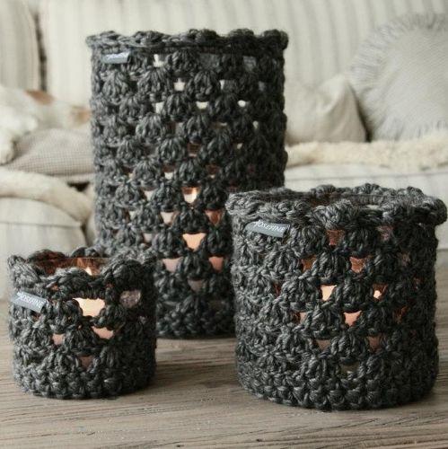 minJosefine | Knitted Lanterns
