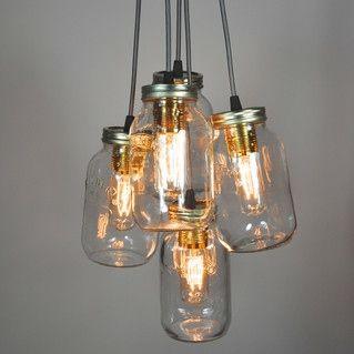 Jamjar lights | Light in a bottle