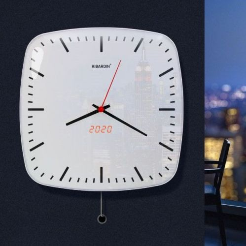 Kibardindesign | Wall Clocks with Retro-Futuristic Accent