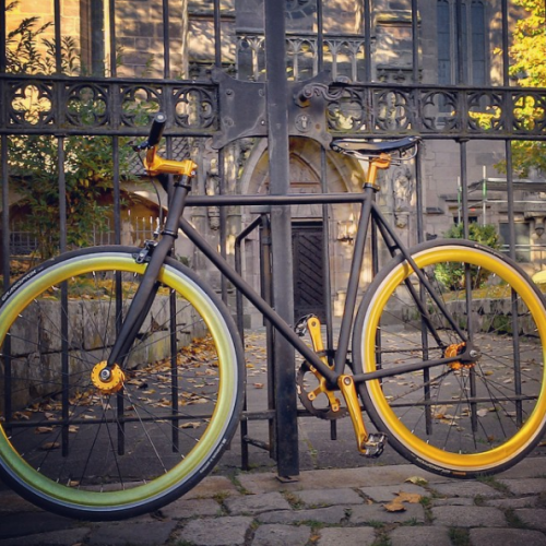 Gold Cycle | Finest Bicycle Culture