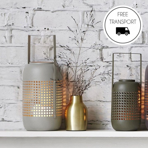 House Doctor | Cosy Lanterns in Bamboo & Metal