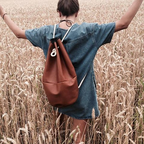 MARIN & MARINE | Handcrafted Navy Bags