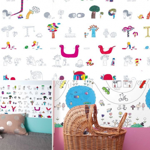 The Mark on the Wall | Creativity Stimulating Wallpaper