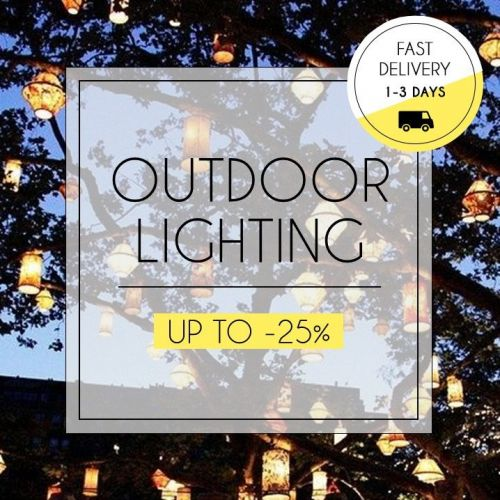 Outdoor Lighting | Lamps for Every Mood