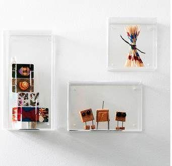 Nomess | Acrylic Wall Boxes