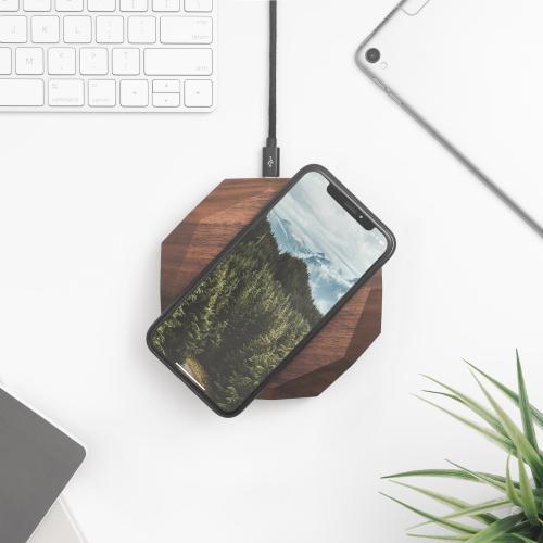 Oakywood | Massivholz Ladegeräte & Laptop Ständer