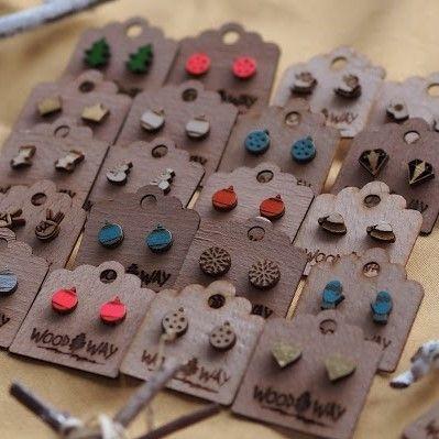 Woodway | Wooden Earrings
