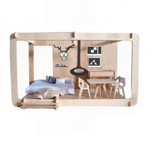 Miniio | Modern Miniature Dollhouses
