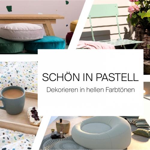 Schön in Pastell | Dekorieren in hellen Farbtönen