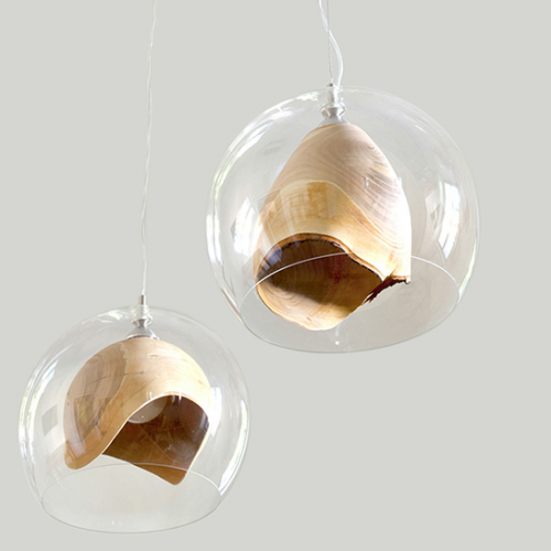 Slow Wood | Transluent Teca Light