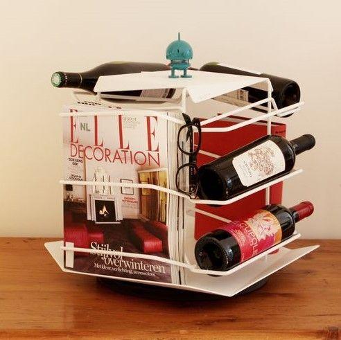 June Seven | Rotating Wine Racks