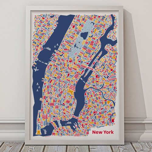 Vianina | City Posters Inspired by Childlike Amazement