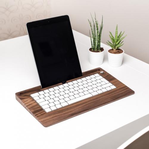 Woody's | Ergonomisches Holzzubehör für Tablet & Tastatur