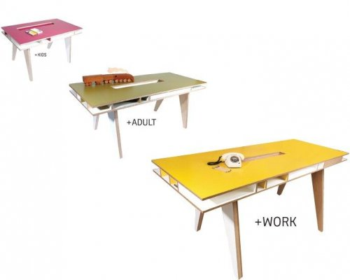 INSEKT | A clear Desk to work with everything at hand