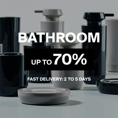 Bathroom | Up to 70%