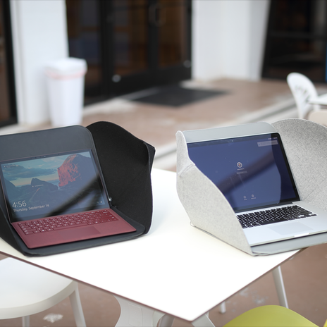 Alcove | Laptop case & workstation in 1