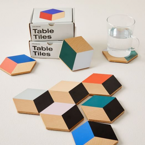 Areaware | Geometric coasters & trivets