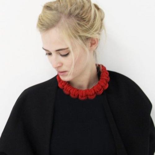 Urška Hvalica | Bold Textile Jewellery
