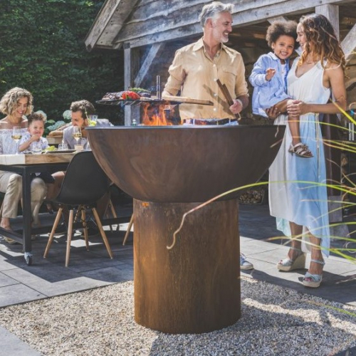 Artola | Exklusive Feuerschalen aus Cortenstahl
