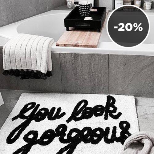SHOP THE LOOK | Minimalist Bathroom
