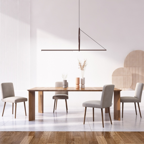 Ted Lapidus Maison | Stilvolle französische Esszimmerstühle