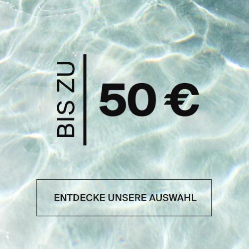 Produkte bis zu 50 € |