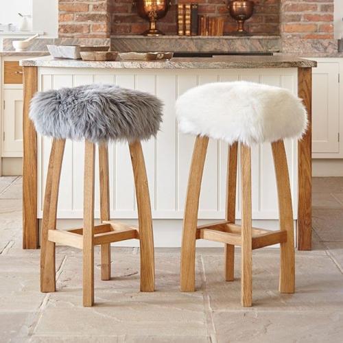 Baa Stool | Luxury Sheepskin Stools