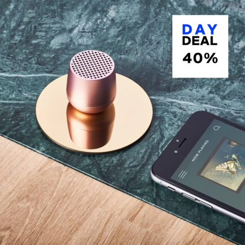 Lexon | Klein aber oho: dieser Bluetooth-Lautsprecher