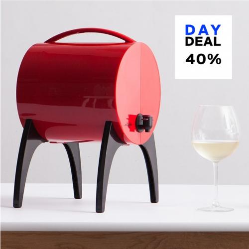 WinyBar | Chin-chin: Kompakter Bag-in-Box-Weinbehälter