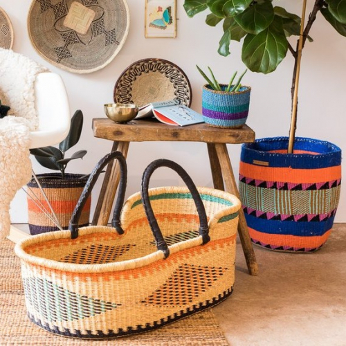 The Basket Room | Handwoven baskets from Africa