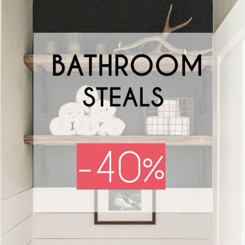 Bathroom Steals | Last Items