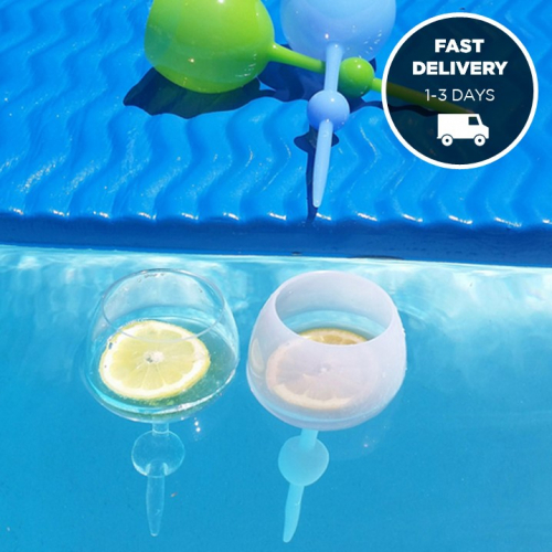 Beachware | Free-Standing & Floating Glasses