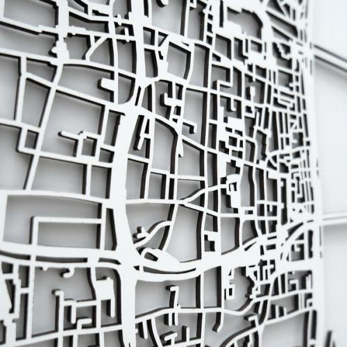 Werkstatt | Laser-Cut 3D Maps