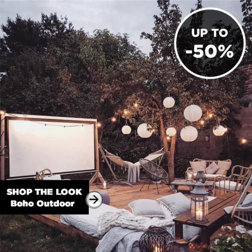 SHOP THE LOOK | Boho Outdoor