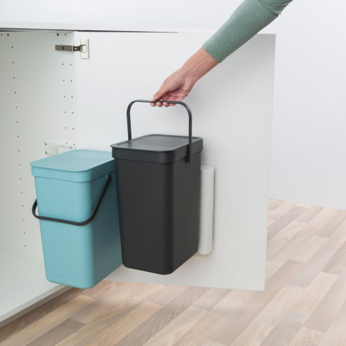 Brabantia   Abfall mit Stil: Edler Designer-Mülleimer