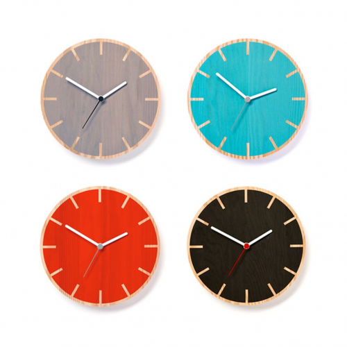 By Shop   Colored Wooden Clocks