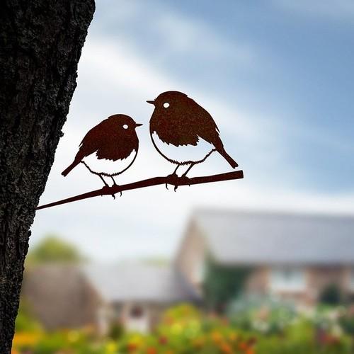 Metalbird | Dekorative Metall-Vögel