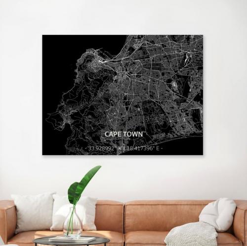 BRANDTHOUT | Detailverliebte Deko: Stadtpläne aus Metall