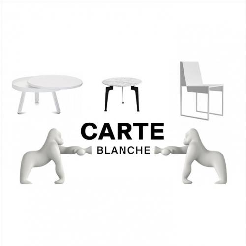 Carte Blanche | Erfrischendes weißes Design