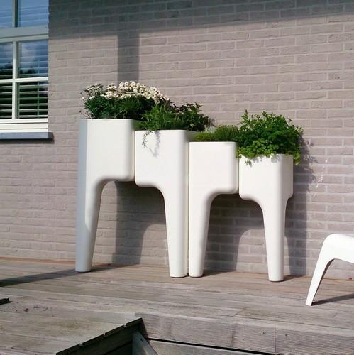 Hurbz   Kompakte Pflanztöpfe für urbane Gärtner